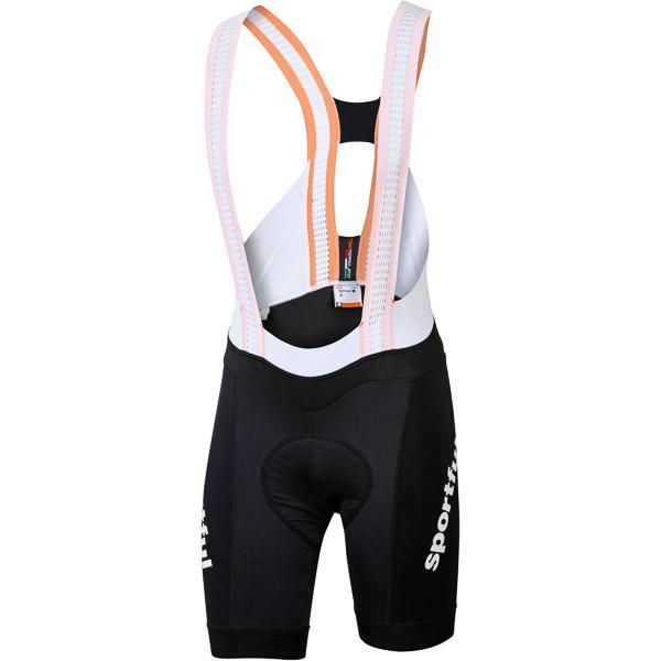Sportful Total Comfort kraťasy s trakmi čierne/biele