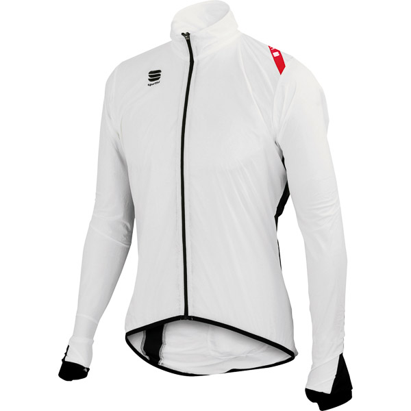 Sportful Hot Pack 5 cyklo bunda biela/čierna