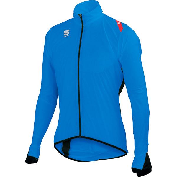 Sportful Hot Pack 5 cyklo bunda modrá/čierna