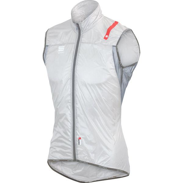 Sportful Hot Pack Ultralight vesta strieborná