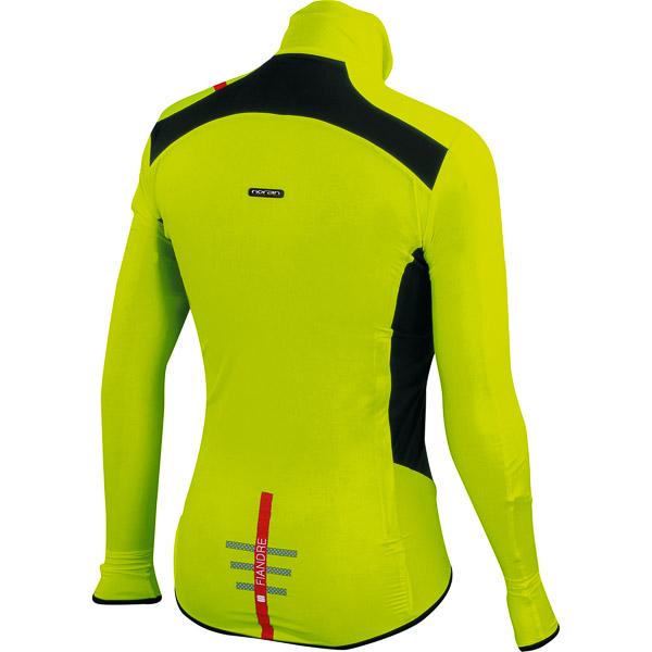 Sportful Fiandre Light NoRain bunda fluo žltá/čierna