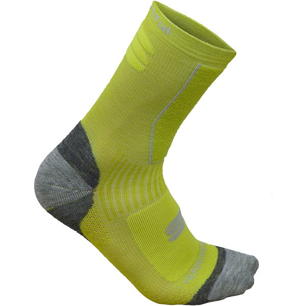 Sportful Merino Wool 16 ponožky fluo žlté