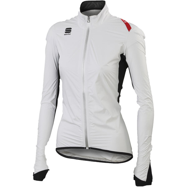 Sportful Hot Pack NoRain dámska bunda biela/čierna
