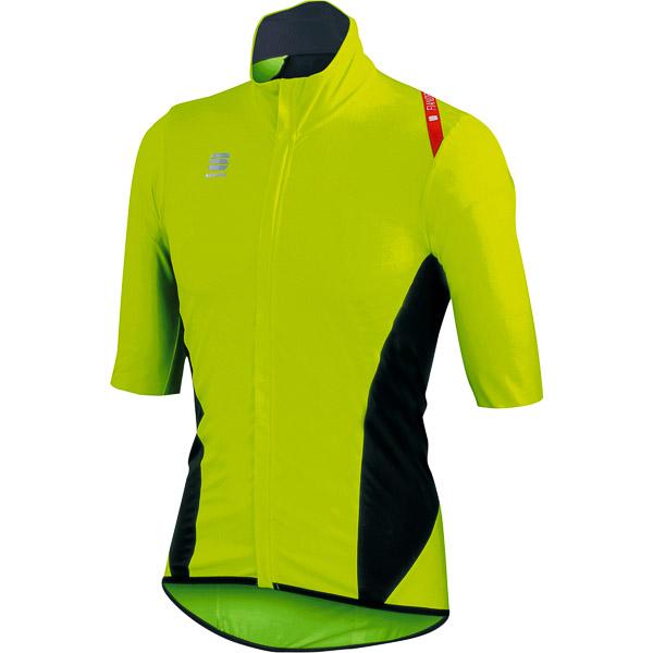 Sportful Fiandre Light NoRain Dres KR fluo žltý/čierny