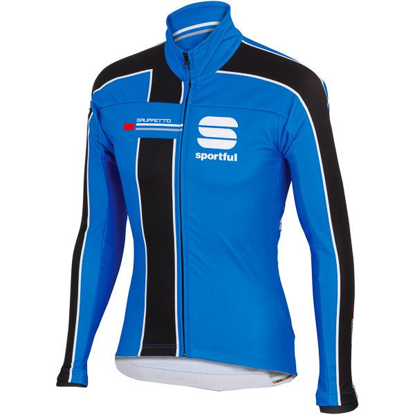 Sportful Gruppetto Partial WS cyklistická bunda modrá/čierna