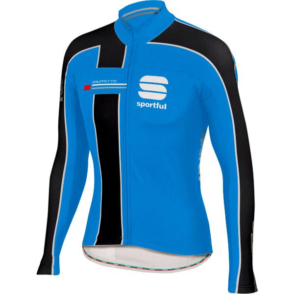 Sportful Gruppetto Thermal dres modrá/čierna