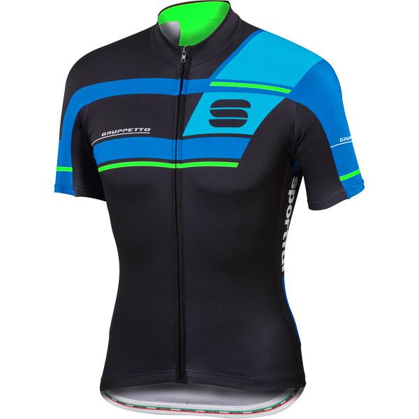 Sportful Gruppetto Pro Team cyklodres čierny/modrý