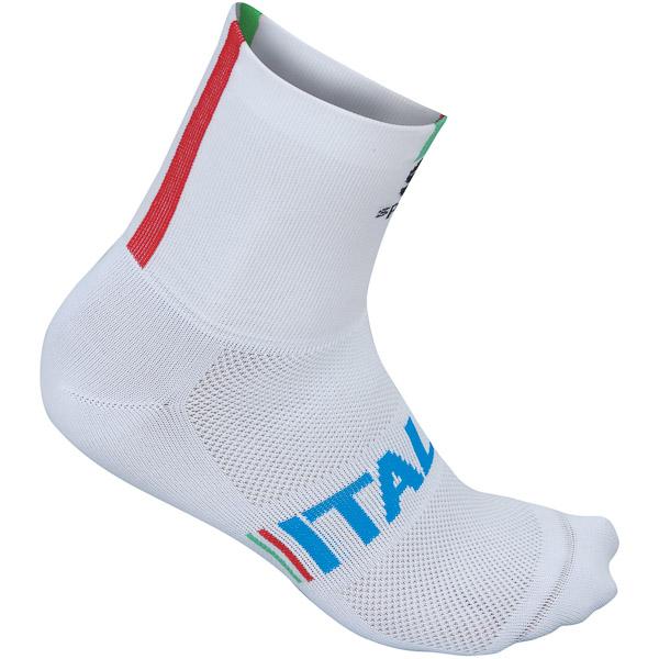 Sportful Italia 12 ponožky biele