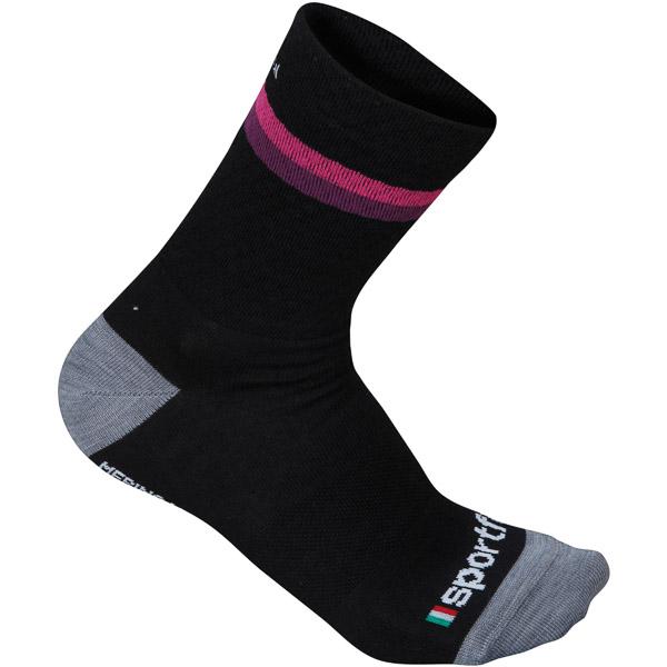 Sportful Wool dámske 14 ponožky čierne