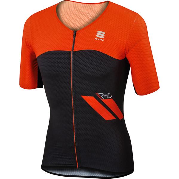 Sportful R&D Cima cyklo dres čierny/červený