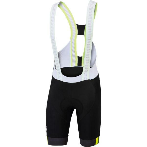Sportful BodyFit Pro LTD kraťasy s trakmi čierne/fluo žlté