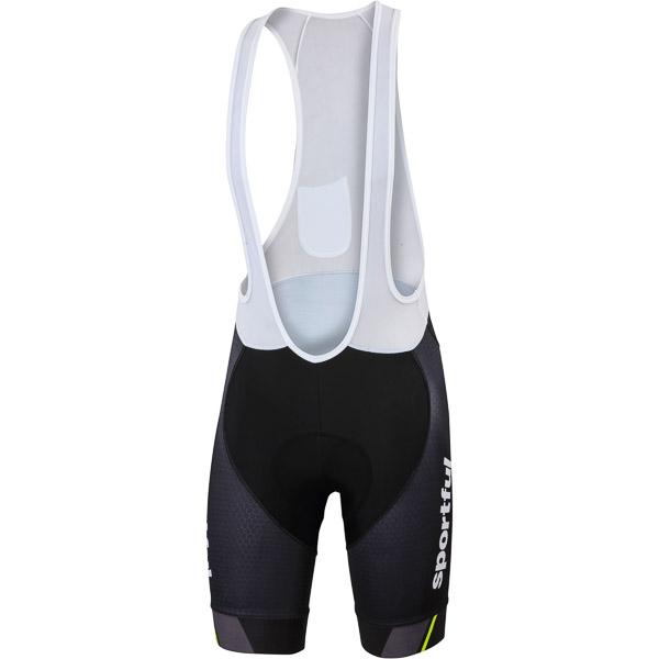 Sportful Gruppetto Pro kraťasy s trakmi čierne/sivé