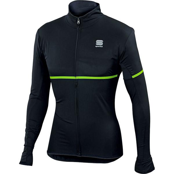 Sportful Giara cyklo bunda čierna/zelená