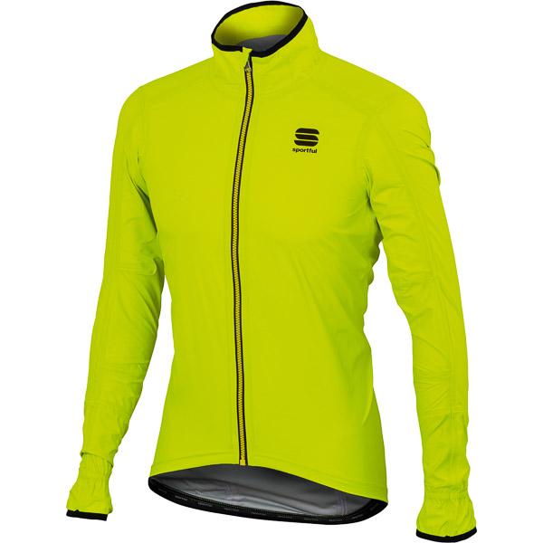 Sportful Stelvio cyklo bunda fluo žltá