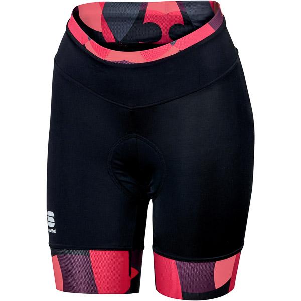 Sportful Primavera cyklo kraťasy dámske čierne/ružové