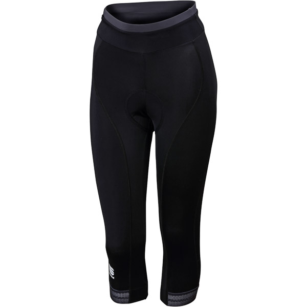 Sportful Giro dámske 3/4 nohavice čierne