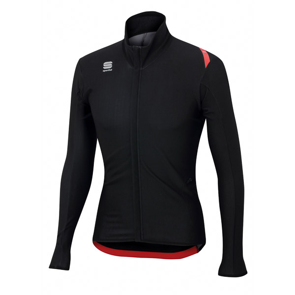 Sportful Fiandre Light Wind bunda čierna