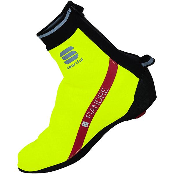 Sportful Fiandre Gore WindStopper návleky na tretry fluo žlté