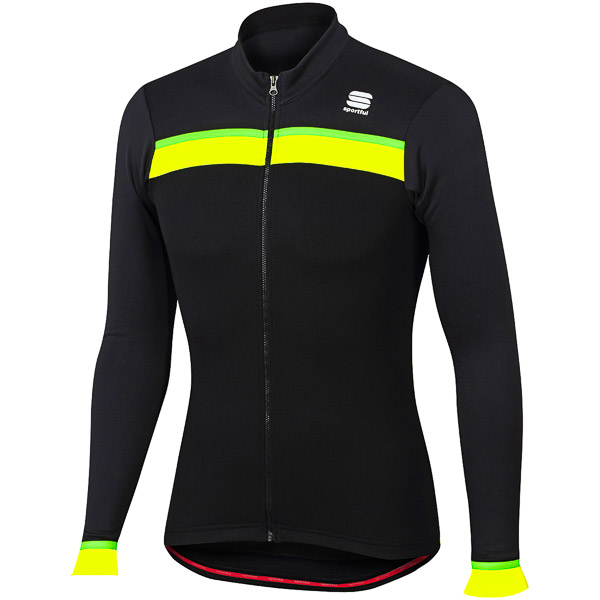 Sportful Pista Thermal cyklo dres čierny/antracit