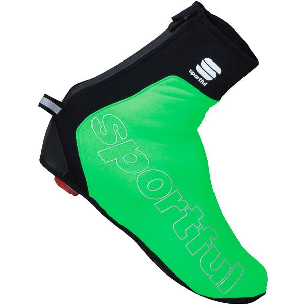 Sportful Roubaix Thermal MTB návleky na tretry fluo zelené