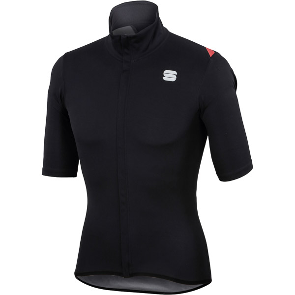 Sportful Fiandre Light NoRain dres krátky rukáv čierny