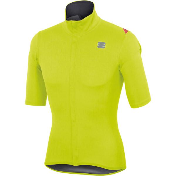 Sportful Fiandre Light NoRain dres krátky rukáv fluo žltý