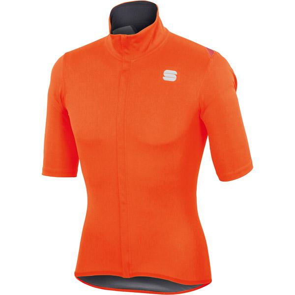 Sportful Fiandre Light NoRain dres krátky rukáv oranžový
