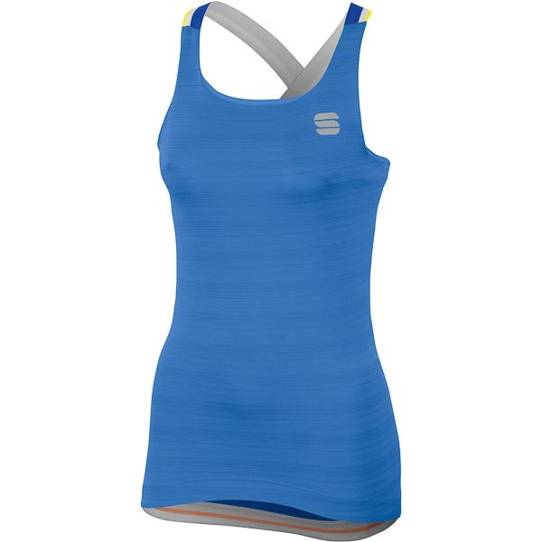 Sportful Grace Dámsky top modrý/modrý