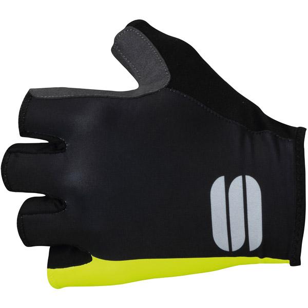 Sportful Bodyfit Pro rukavice čierna/žltá fluo