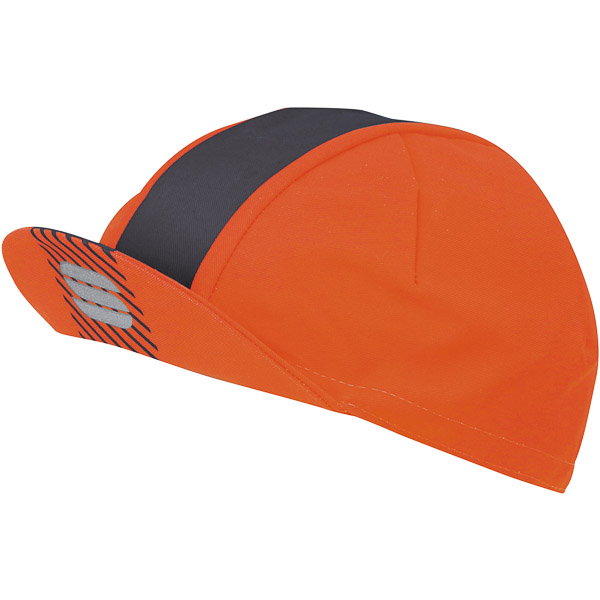 Sportful Bodyfit Pro Čiapka oranžová/tmavosivá
