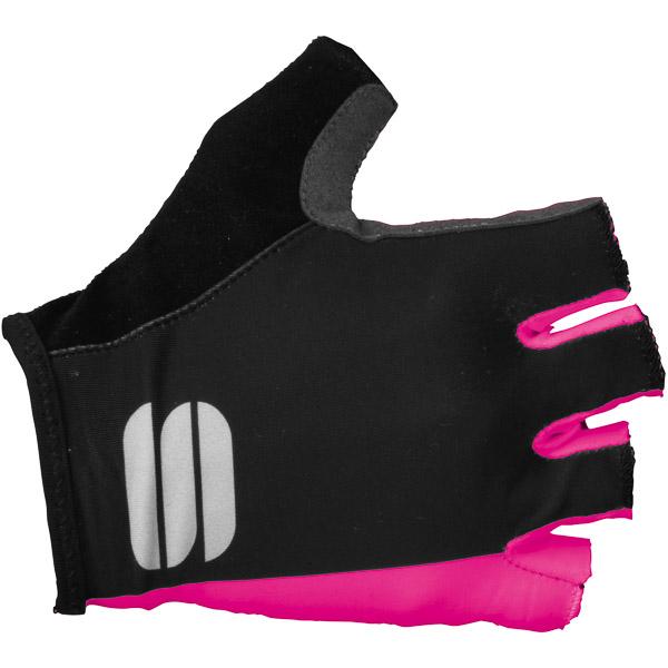 Sportful Diva Dámske rukavice ružové/čierne
