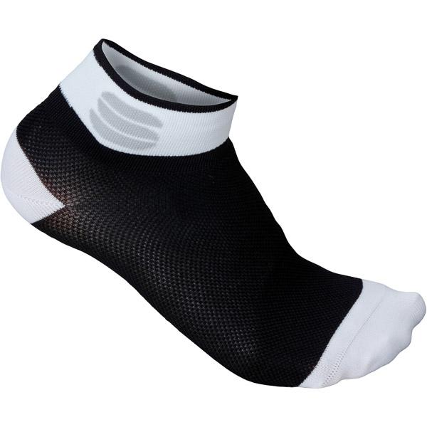 Sportful Pro dámske 5 ponožky čierne/biele