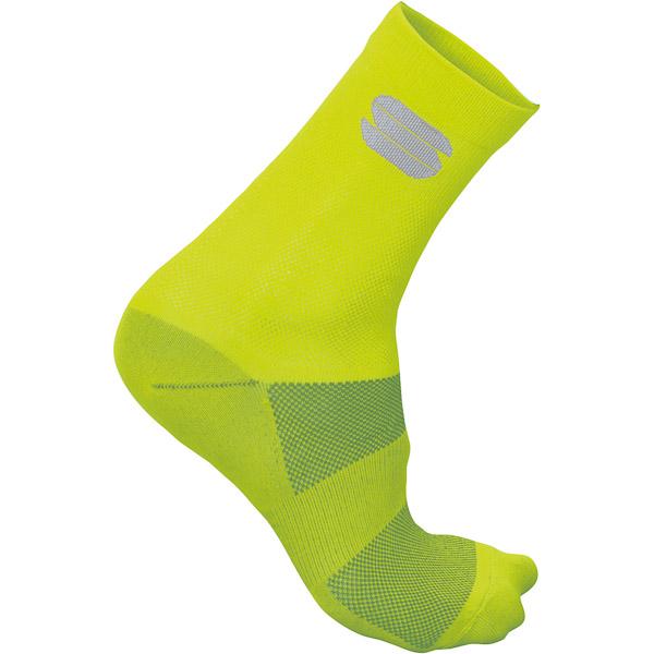 Sportful Ride 15 ponožky žlté fluo