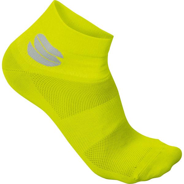 Sportful Ride 6 ponožky žlté fluo
