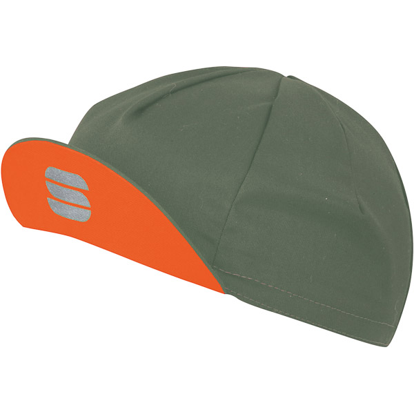 Sportful Infinite Čiapka kaki zelená/oranžová