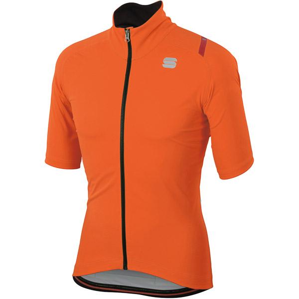 Sportful Fiandre Ultimate2 Gore WindStopper bunda KR oranžová