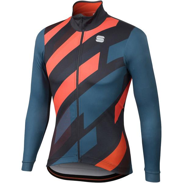 Sportful Volt Thermal dres modrý/antracit/fluo červený