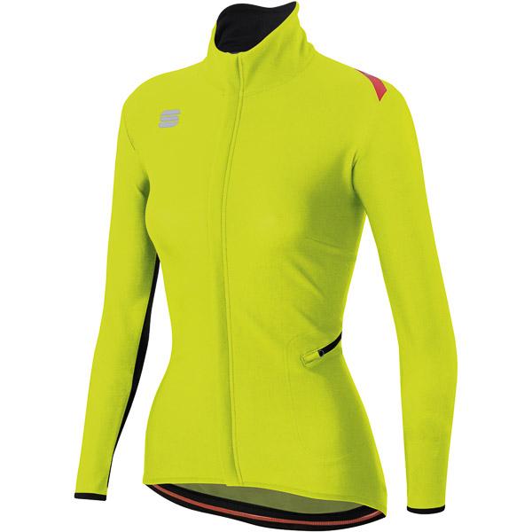 Sportful Fiandre Light WindStopper bunda dámska fluo žltá
