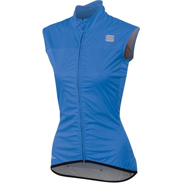 Sportful Bodyfit Pro 2.0 Dámska WindStopper vesta modrá/čierna