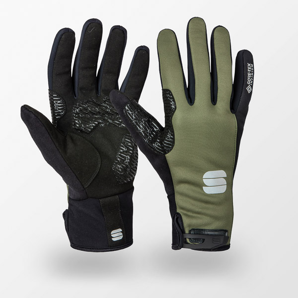 Sportful WS ESSENTIAL 2 rukavice kaki/čierne