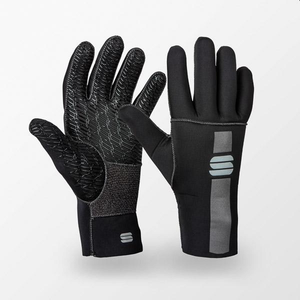 Sportful Neoprene rukavice čierne