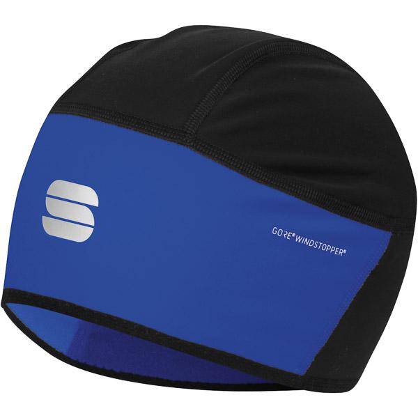 Sportful Gore® Windstopper® čiapka pod prilbu čierna/modrá