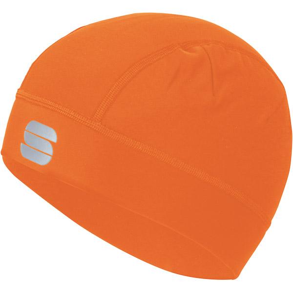 Sportful Edge cyklo čiapka oranžová