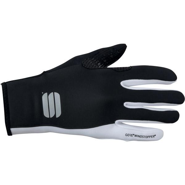 Sportful GORE WindStopper Essential 2 rukavice dámske čierne/biele