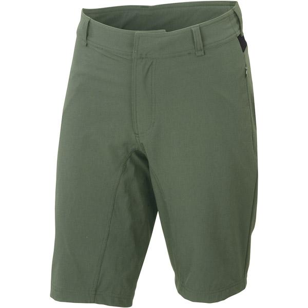 Sportful Giara Vrchné kraťasy  kaki zelené