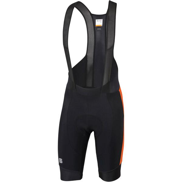 Sportful GTS Kraťasy s trakmi  čierne/oranžové