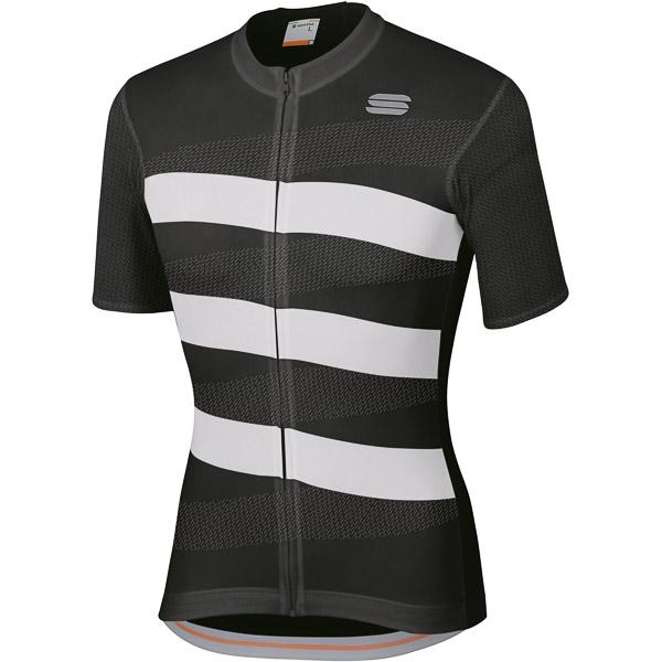 Sportful  Team 2.0 Ribbon Dres  čierny/biely