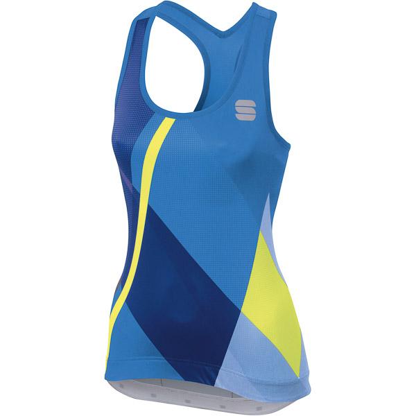Sportful Aurora Dámsky top   modrý