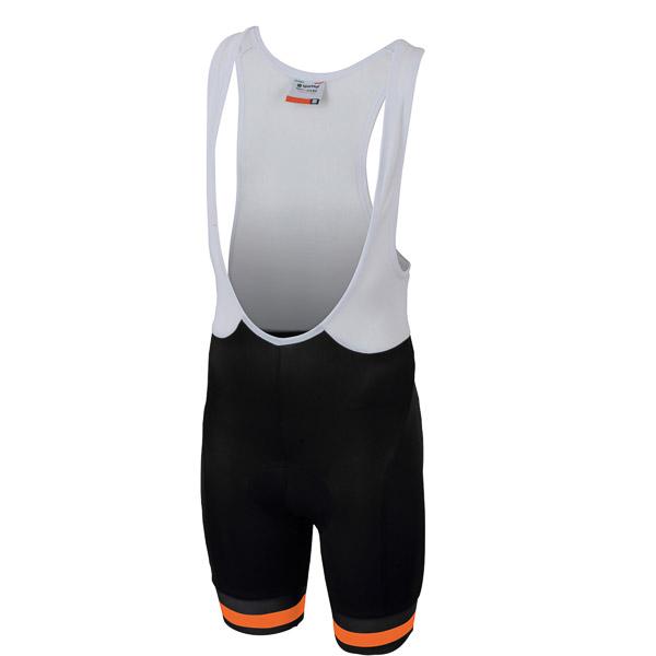 Sportful Tour 2.0 Detské kraťasy s trakmi  čierne/oranžové
