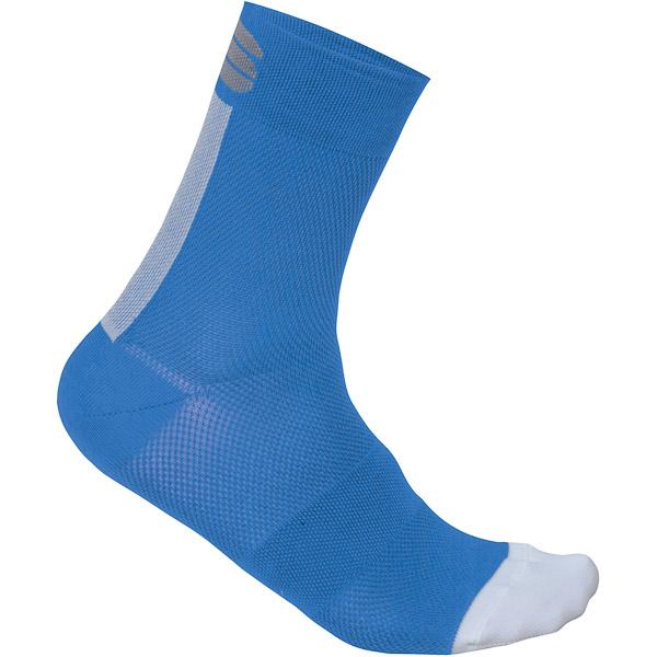 Sportful Bodyfit Pro 12 Dámske ponožky modré/biele